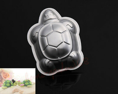 3D Turtle Cake Chocolate Jello Pan Tin Baking Mold Mould Deocrating Tool KN