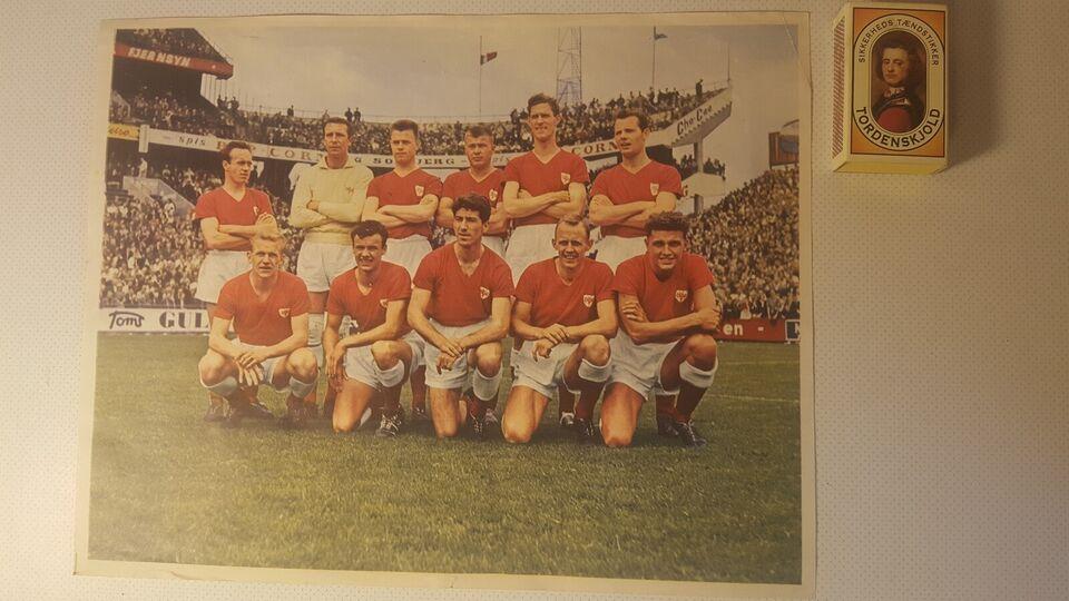 Billeder, Fodboldlandshold 50'erne