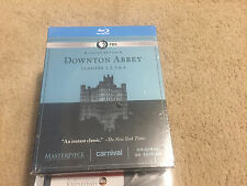 Masterpiece: Downton Abbey - Seasons 1-4 (Blu-ray Disc, 2014, 11-Disc Set) NEW