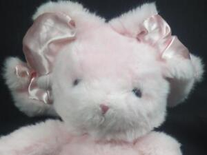 Image Is Loading CURLY LOP EAR BABY GIRL PINK EASTER BUNNY