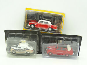 Norev-1-43-Lot-Tour-de-France-Renault-4CV-Peugeot-203-404