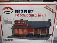 Model Power Ho Structure Kit - Ma's Place Home Cooking 490-190