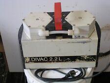 Leybold Divac 22 L Dry Diaphragm Vacuum Pump