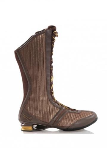 NEW Shox Q´Vida Hi Rare Woman's Boot Sneakerboot Boots Sneaker brown 316565 221