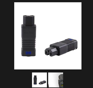 Conector de alimentación 1x 1x 1x Cuerpo Delgado IEC Rodio Furutech FI-C15 TT13 de entrada NCF (R) 12dd39