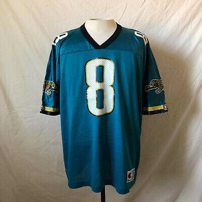 Vintage 90's Champion Jacksonville Jaguars Mark Brunell Jersey 48 XL VTG NFL   eBay