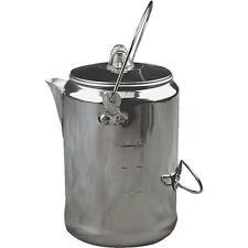 """2 Pk Coleman 9 Cup 16.5""""High Aluminum Camping Coffee Pot 2000016428"""
