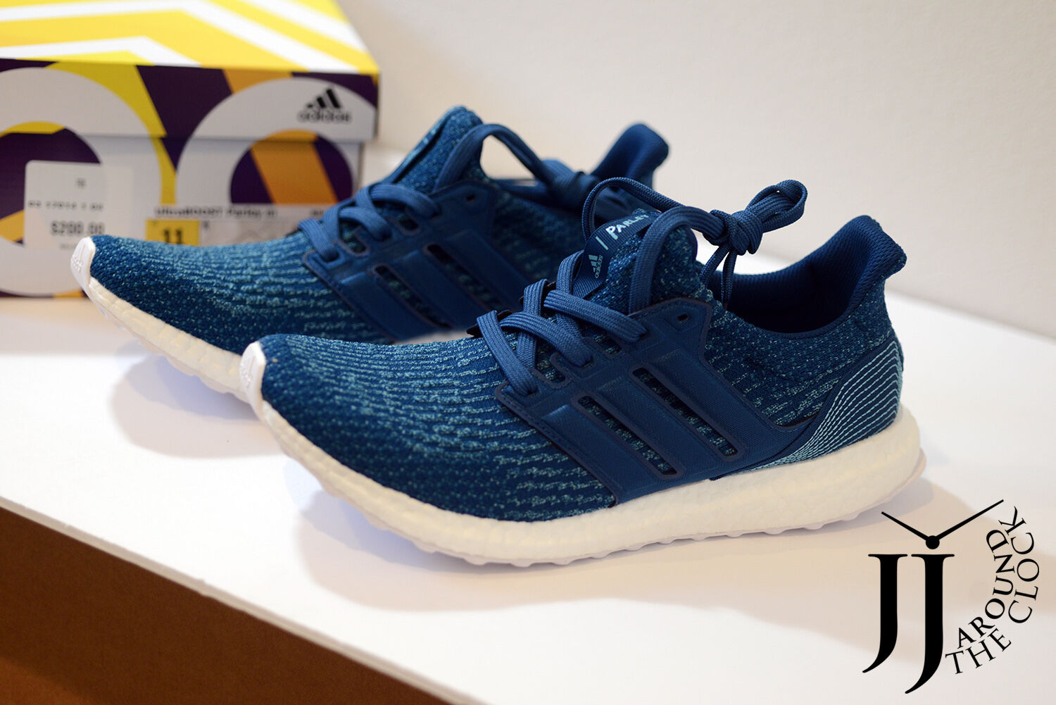 b14d31d41d586 Details about 2017 Adidas Ultra Boost X Parley Oceans 30 Night