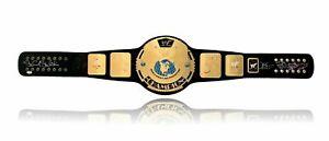 WWF-Signed-Championship-Belt-PSA-Coa-Stone-Cold-Mick-Foley-Hart-Michaels-1-WWE