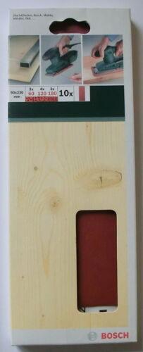 93 x 230 mm NEU Schleifblätter Schwingschleifer BOSCH K40 bis K180