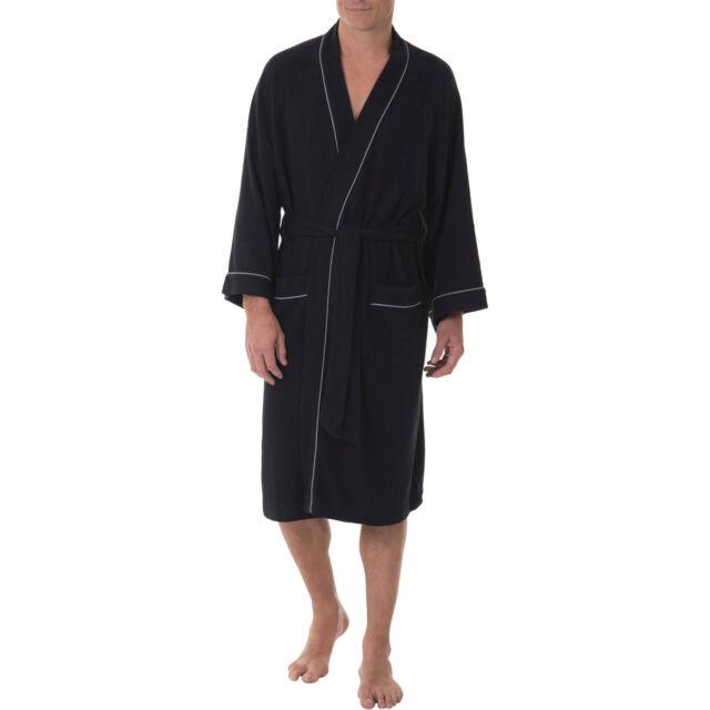Jockey Mens Waffle-Weave Kimono Robe