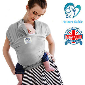 Baby Sling Stretchy Wrap Carrier Premium Breastfeeding Birth To