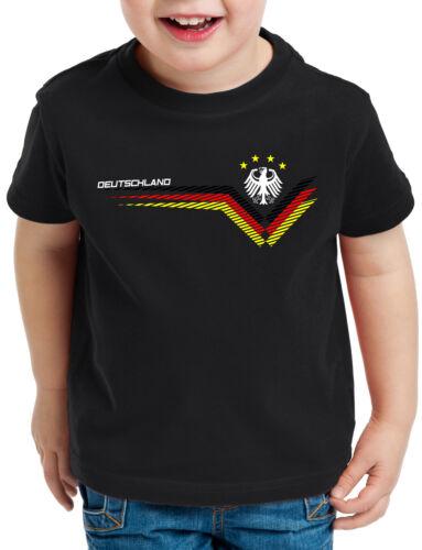 Deutschland T-Shirt Kinder Trikot Fussball Russland Fan-Artikel Oberteil WM EM