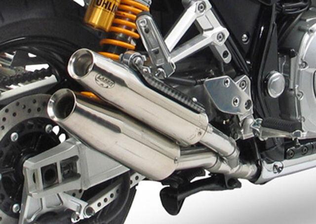 LASER  Auspuff Schalldämpfer 4 Rohr Anlage für XJR 1300  RP02 + RP06 <'99 - '03>