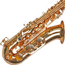 Karl Glaser Tenor Saxophon mit Koffer, Mundstück, Blättchen, geprüfte Neuware