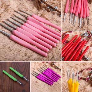 8Pcs-set-Crochet-Hook-Soft-Grip-Set-Handles-Yarn-Knitting-Needles-Aluminum-Tools