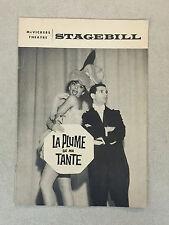 October 1969 McVickers Theatre Playbill Program: La Pluma De Ma Tante