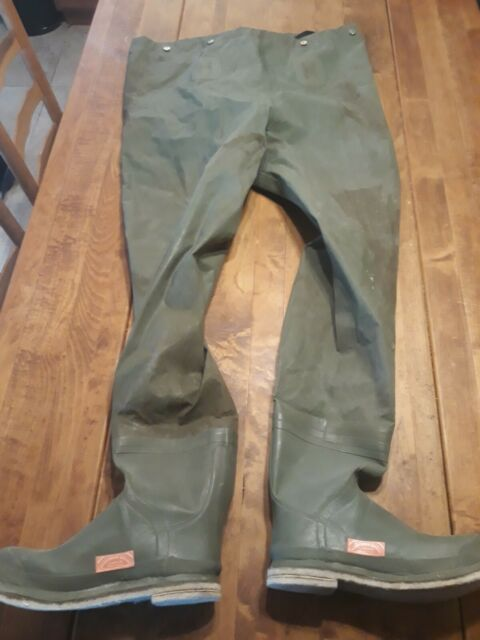 Vintage Orvis Fly Fishing Waders Size 11 Style #11