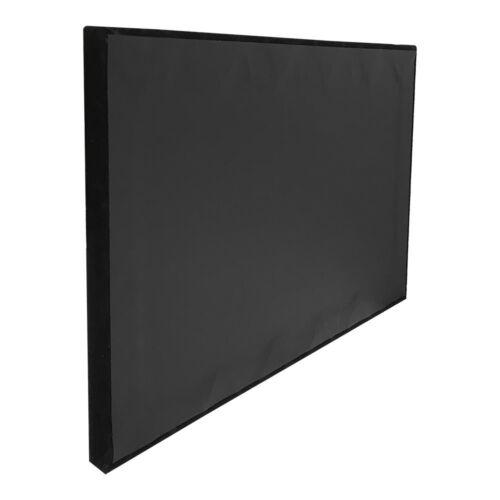Jewelry 18 Square Divided Insert Tray BLACK VELVET Showcase 1//2 Inch Height