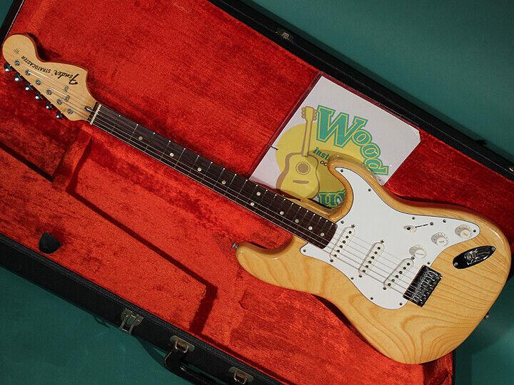 Fender STRATOCASTER HARD TAIL NAT R JAPAN beautiful rare EMS F S