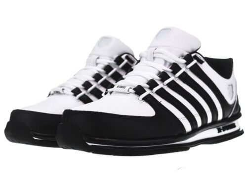 Homme Nouveau Kswiss Arvee Rinzler Baskets à Lacets en Cuir Lo Top Sneakers Taille 6-12