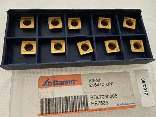 10 x Garant SDLT090308 HB7535  Wendeschneidplatte   216410 UNI