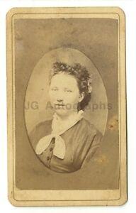 Image Is Loading 19th Century Fashion Carte De Visite