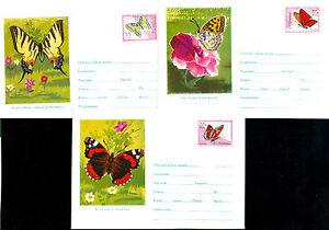 1961 Butterflies,Admiral,Swallowtail,Schmetterlinge,Farfalla,Romania,rare covers