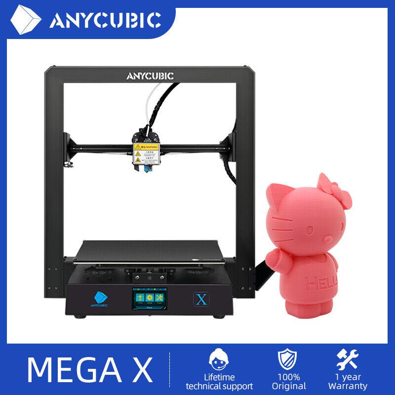 ANYCUBIC i3 MEGA X FDM 3D Printer High Precision UltraBase Bed 300x300x305mm
