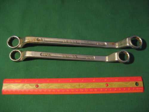 2 Vintage Wrenches SEARS USA 34 2532 78 1316