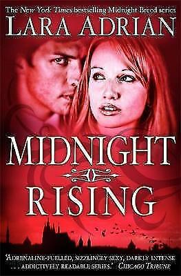 1 of 1 - Midnight Rising (Midnight Breed), New, Adrian, Lara Book