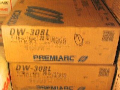 "KOBELCO-PremiArc 28//lbs DW-316L Stainless Steel 1//16/"" Welding Wire 12/"" Spool"