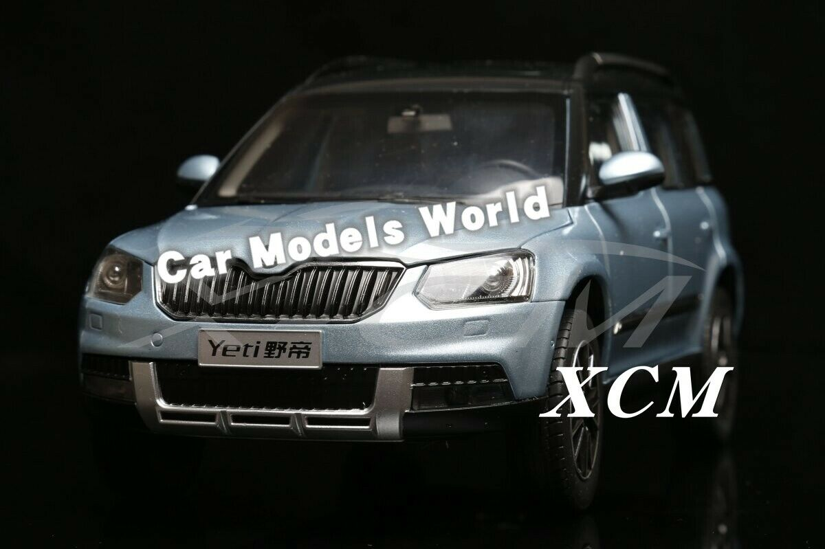 Car Model for YETI Yeti SUV 1 18 (Blau) + SMALL GIFT