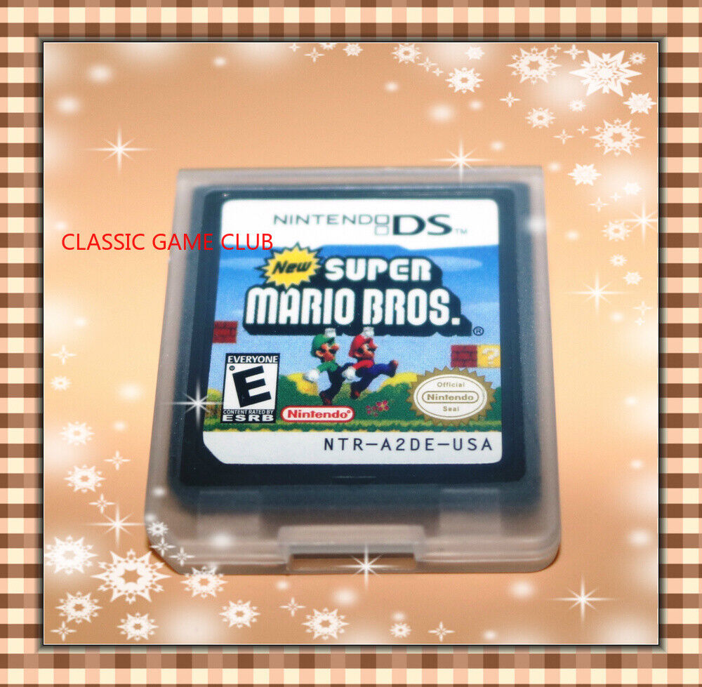 New Super Mario Bros. (Nintendo DS, 2006) Game Only for DS / DSi / 3DS XL / 2DS 1