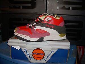 f17dd150a0f130 Reebok Court Victory PUMP MICHAEL CHANG DES LE Tennis Shoes Size 8 ...