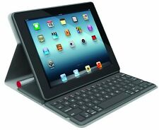 Logitech Keyboard Bluetooth Solar Tastatur Folio cover Apple iPad 2/3/4 QWERTZ