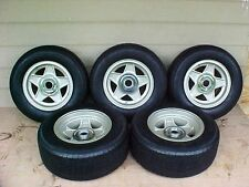 "Ferrari 365 GTB/4 Wheels Rims_Avon Tires_Hubs_Daytona 9"" Rear 7 1/2"" Front SET 5"