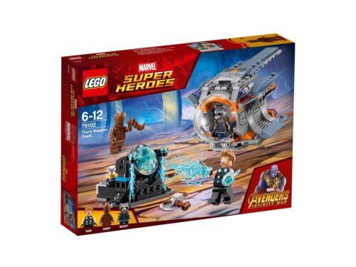 76102 Thors Stormbreaker Hache-NOUVEAU /& NEUF dans sa boîte Lego Marvel Super Heroes
