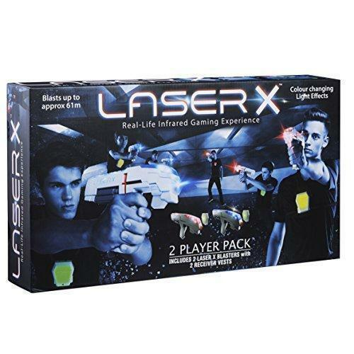 Laser X Fusion Complete  Brand new sealed  Laser Tag Fusion Blasters Vest game