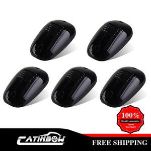 5pcs-Cab-Marker-Light-Smoke-Clearance-White-9-LED-Assembly-for-03-16-Dodge-Ram