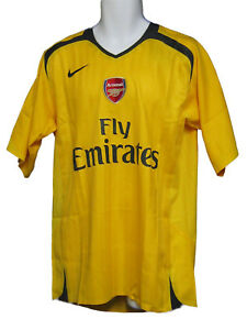 Nuevo-Nike-Arsenal-Player-Tema-Futbol-EPL-Partido-Away-Camiseta-Manga-Corta-Xxl