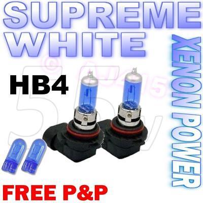 Lexus GS HB4 501 100w Super White Xenon HID Low//LED Trade Side Light Bulbs Set