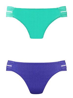 Passionata by Chantelle Papillon Low Rise Tie Side Lined Bikini Brief 6 2XS