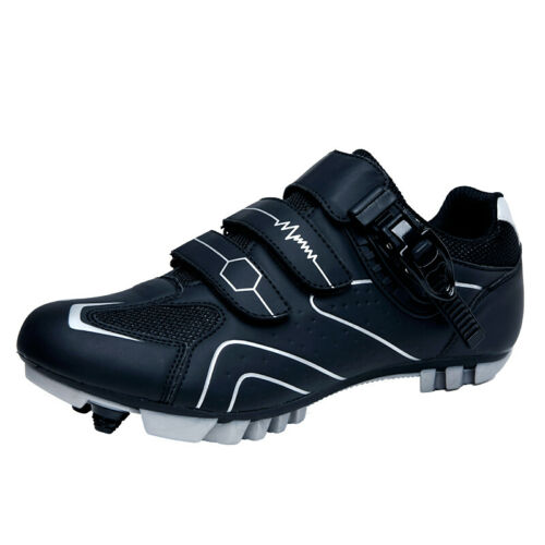 Details about  /Professional Cycling Shoes Breathable MTB Bicycle Anti-Skid Sneakers SPD Cleats