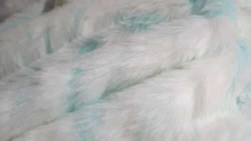 MEDIUM PILE FAUX FUR FABRIC AVAILABLE IN 4 COLOURS