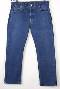 Levi's Strauss & Co Hommes 501 Jeans Jambe Droite Taille W36 L30 BCZ166