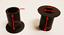 miniatuur 2 - ATV'S, GO-KARTS, QUADS & PIT BIKES. SWING ( A ) ARM NYLON BUSHES-SPACERS