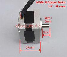 1.8°/step NEMA 14 2-Phase 4-wire 35MM Stepper Motor 5mm Shaft For 3D Printer