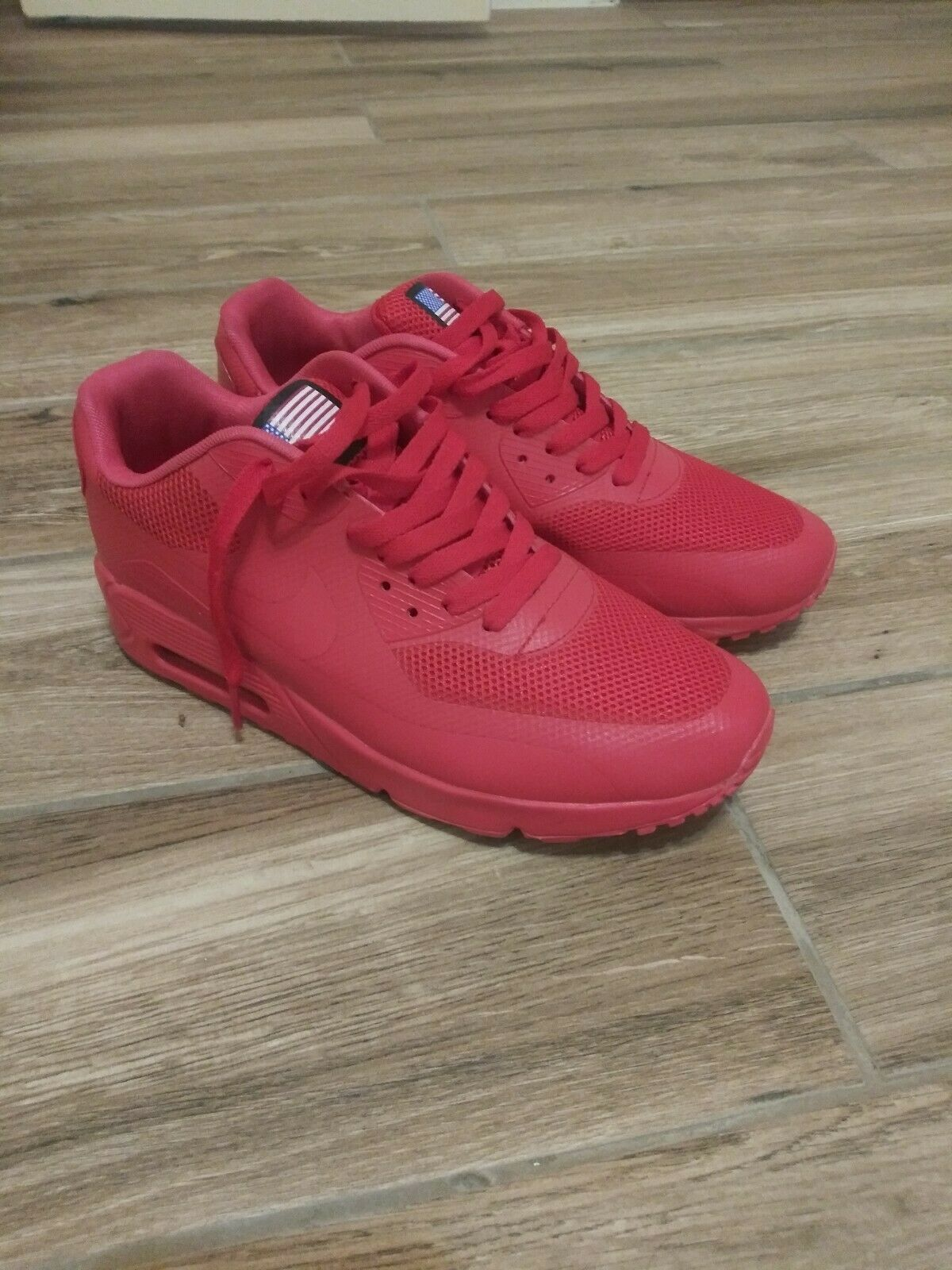 probable Carretilla soltar  Nike Air Max 90 Hyperfuse USA Red US 10.5 613841-660 2013 for sale online |  eBay