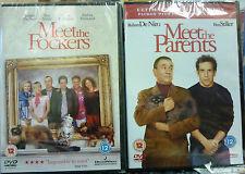 MEET THE FOCKERS & MEET THE PARENTS 2 X DVDs (SEALED)